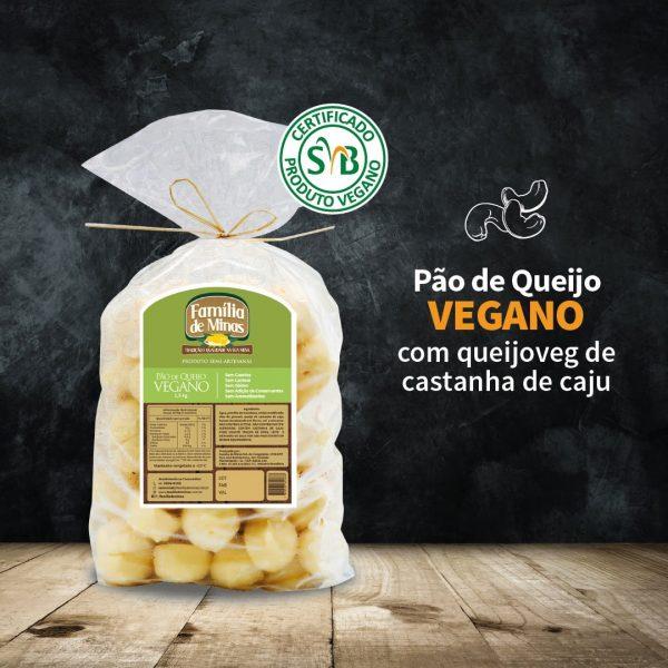 Pão de queijo vegano 1.5kg - Família de Minas