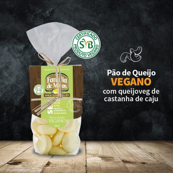 Pão de queijo vegano 500g - Família de Minas